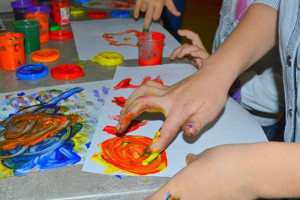 Мастер-класс детям на праздник