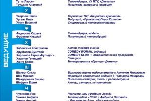 Российские ведущие