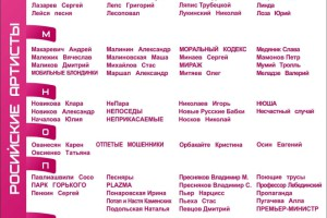 Русские звезды