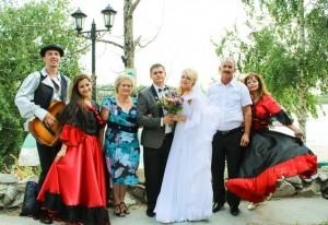 Цыгане на свадьбе