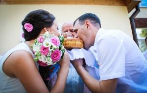 Свадьба в деревенском стиле на Голубых огнях